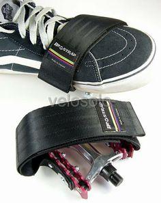 VeloSolo - Re-Strap Pedal Straps