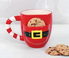 Christmas Mug! Milk and Cookies for Santa