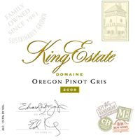 King Estate 20009 Domaine Pinot Gris