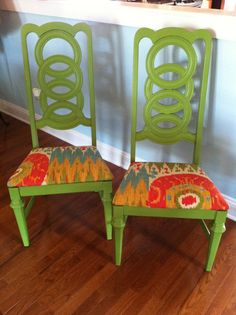 Revamped dining chairs