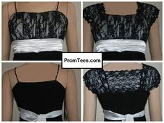 PromTees: specialty layering T-shirts under formal dresses for modesty and beauty. Great idea! Coming in early 2014...