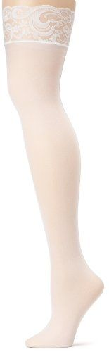 Leg Avenue Women's Sheer Lace Top Stockings with Back Seam #1101 (Black) $3.85 - $11.95