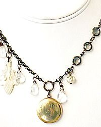 Antique Edwardian Monogrammed Gold Locket M L E Necklace Gold Locket, Lockets, Diy Jewelry, Monogram, Pendant Necklace, Antiques, Silver, Style, Antiquities