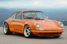 Porsche 911 Reimagined by Singer - I think I have an orange crush
