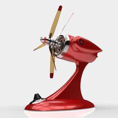 Karlzonn Coaxial rotor Fan by 600v (2012)