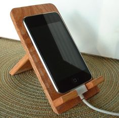 wooden phone holder - Google Search
