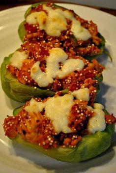 Stuffed Chayote Squash Recipe... dinner tonight.. minus the turkey :)