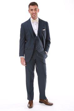 Slate Blue Allure Men Slate, Suit Jacket, Breast, Colors, Jackets, Wedding, Men, Fashion, Down Jackets