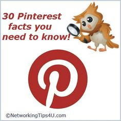 Pinterest 30 facts you need to know...