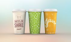 Paper Cup Design on Behance