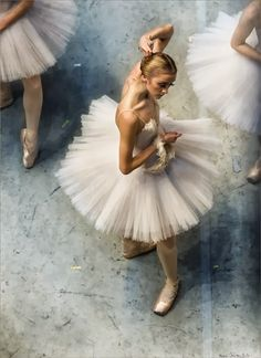 photographs of the Russian Ballet backstage, taken by Mark Olich