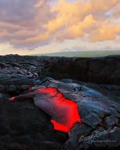 Lava Breakout by Gary Randall, via Flickr