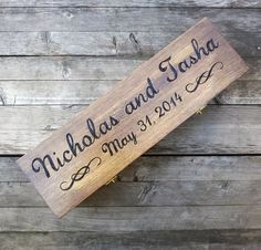 Custom Rustic Wedding Wine Box First Fight Box by arrowsarah $65