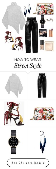 """""""My street, my style """" by uar2345 on Polyvore featuring STELLA McCARTNEY, Dsquared2, Kre-at Beauty, Christian Dior, Charlotte Tilbury, Gucci, Anni Jürgenson, philosophy, Jouer and NARS Cosmetics"""