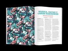 Rats and books Pattern on Behance