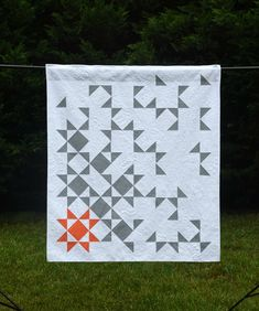 State of Being  digital quilt pattern  a modern lap sized