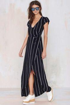 Faithfull Lulu Wrap Dress - Day | Midi + Maxi