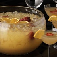 Who doesn't love a mimosa punch?