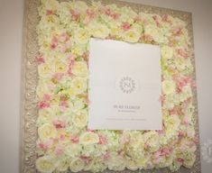 Petra, Pastel, Pure Products, Art Floral, Spring, Frame, Flowers, Home Decor, Picture Frame