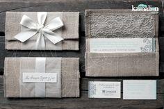 www.kamalion.com.mx - Invitaciones / Vintage / Color crema / Encaje / Yute / Gris & Menta / Invite / Wedding / Boda.