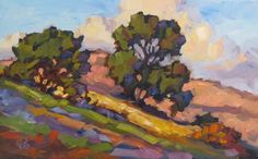 """""""LOOKING UP"""" 16x10 inch original plein air oil painting by Tom Brown SOLD This was painted during a plein air workshop I conducted in Lagu..."""