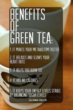 Groene thee!