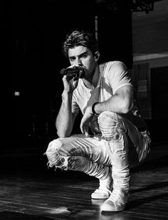 Drew from the Chainsmokers. I love his singing voice