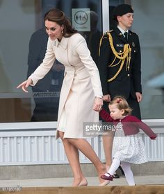 Look at Princess Charlotte strut her stuff with Mom Duchess Catherine.