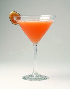 Cinnamon Fig Martini  1.5 oz. Belvedere vodka  1/4 oz. Grand Marnier  1.5 oz. fresh lime juice  1 tsp. cinnamon water (boiled water with cinnamon and sugar)  1 oz. blood orange juice  Fig slices