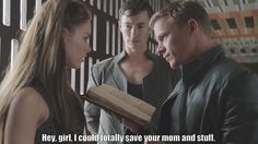 Hey, girl, I could totally save your mom... | Alex, Michael, Claire | recap Dominion s1e6 Black Eyes Blue  #michael #archangel #dominion #apocrypha