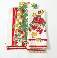 Grandma's Kitchen Towels from House 8810...these remind of the one's my Mom had growing up.