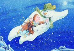 👍 The Snowman: Television Animation 1982 (Aired Every Christmas): Adaptation of Children's Picture Book Published 1978 by English Author Raymond Briggs - For Weatherman Game Plan of Lifespan - A Big Thumbs up from The Holy Spirit. Childrens Christmas Books, Christmas Movies, All Things Christmas, Christmas Eve, Childrens Books, Christmas Music, Christmas Morning, Christmas Traditions, Christmas Cards