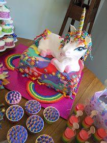 The Quick Unpick: Five. FIVE!!! A party, rainbows and a unicorn cake.
