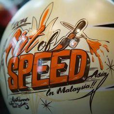 Speed Illustrated Helmet