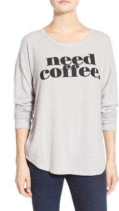 Signorelli Screenprint Dolman Sleeve Sweatshirt