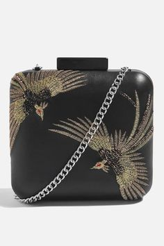 383d3d045290 Topshop Real Leather Bird Boxy Clutch  bird  handbag  afflink Topshop Bags