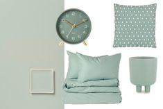 SHOPPEN: 15 interieuritems in Tranquil Dawn, dé kleur van het jaar 2020 Coastal Color Palettes, Coastal Colors, Color Of The Year, Color Trends, Dawn, Sweet Home, Colours, Throw Pillows, Interior Design