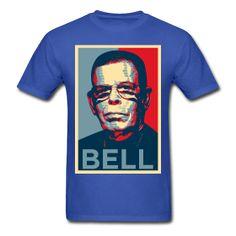 Art Bell Paranormal Radio Host - Hope Design Men's Blue T-Shirt ~ 351