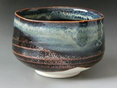 Japanese Pottery Japanese Tea Bowl Mino Ware by JAPANTIQUE on Etsy