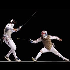 How Many Calories Do Olympians Burn? - Fitness Center - Everyday Health. Pinning for the fencing video on page 10