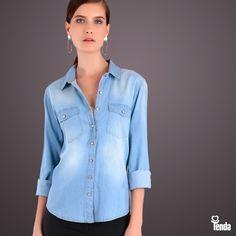 ▶ O jeans é a peça-chave de todas as estações, por ser um item que você repete sem que ninguém perceba. O truque para dar cara nova aos itens em denim são as combinações que você vai fazer com outras peças.  ▶ E você, como reinventaria o uso desta camisa? Deixe seus comentários aqui! #LojasTenda #moda #fashion #jeans #Ipatinga #GovernadorValadares #GV #TeófiloOtoni #MontesClaros #Caratinga #DiaDosNamorados