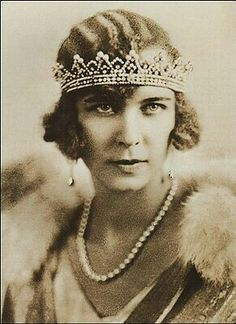"""Princess Marie José of Belgium, Queen of Italy. """"AL"""""""