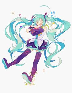 Kawaii Art, Kawaii Anime, Character Art, Character Design, Vocaloid Characters, Kagamine Rin And Len, Miku Chan, Girls Anime, Cartoon Art Styles