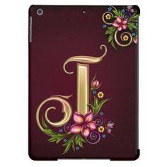 J Monogram iPad Air Case