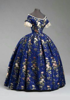 Gown c.1850 United States