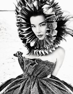 Björk for AnOther Magazine A/W10 Photography by Inez and Vinoodh, Styling by Camilla Nickerson