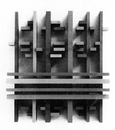 Eli Bornstein,StructuralistRelief No. 3, 1964