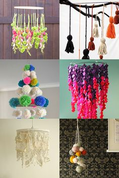 DIY chandelier ideas for weddings and parties | Mollie Makes