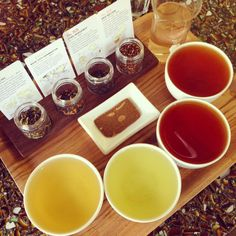 tea tasting at smith teamakers - Portland, Oregon