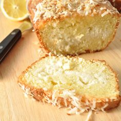 Coconut Lemon Bread — My Love For Cooking